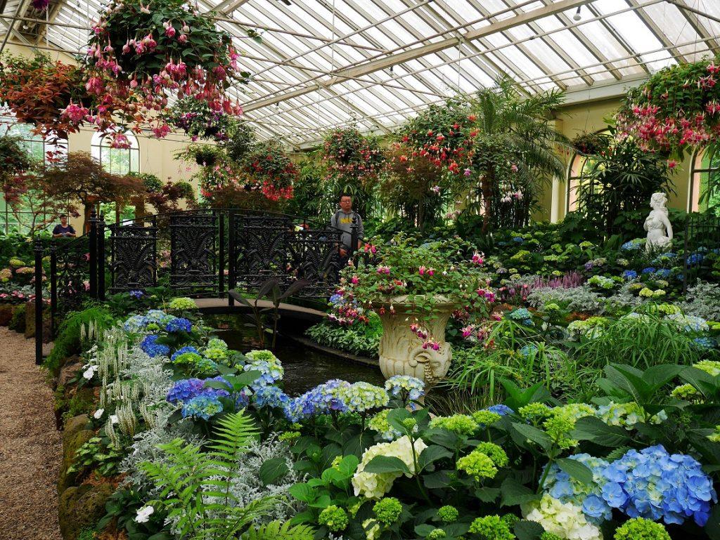 Serre du Fitzroy Garden