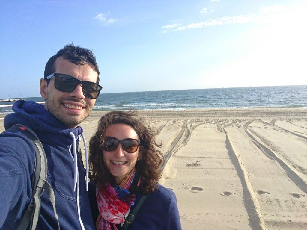 La plage de St Kilda