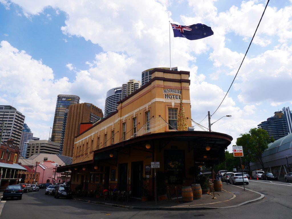 Un des premiers hôtels de Sydney