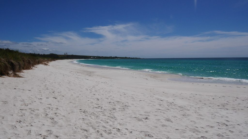 Une des plages de la Bay of Fires