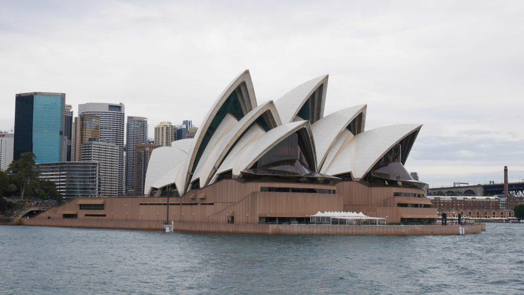 L'Opéra vu du ferry