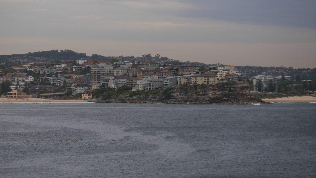Manly depuis la baie