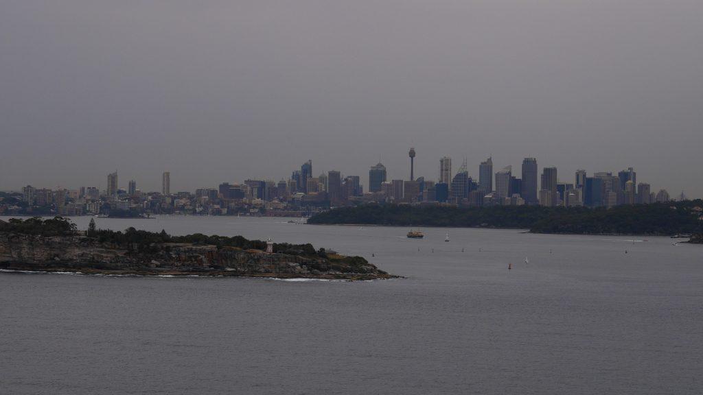 Sydney depuis North Head