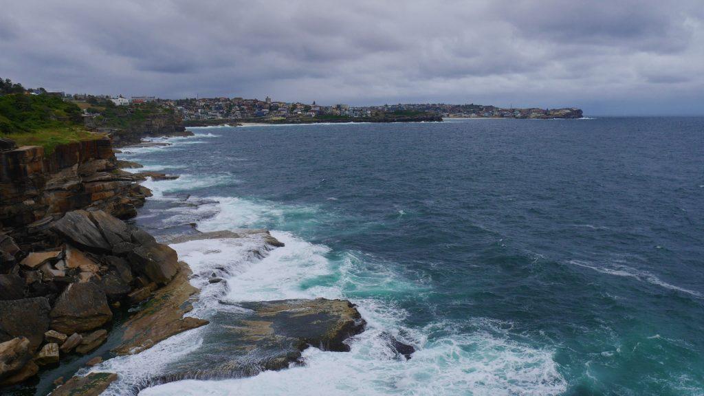 La côte de Cogee à Bondi Beach