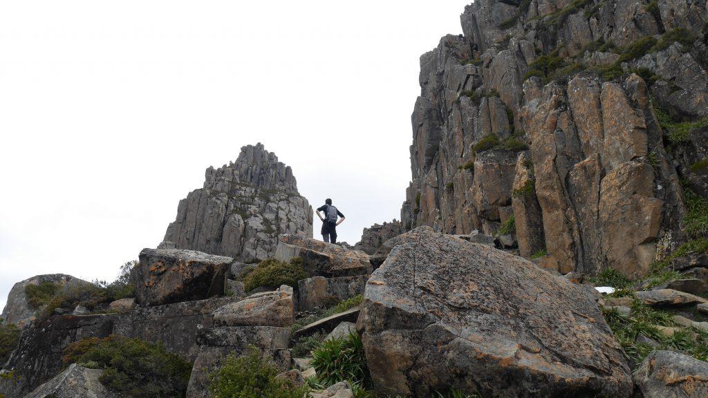 Encore quelques dizaines de mètres à grimper