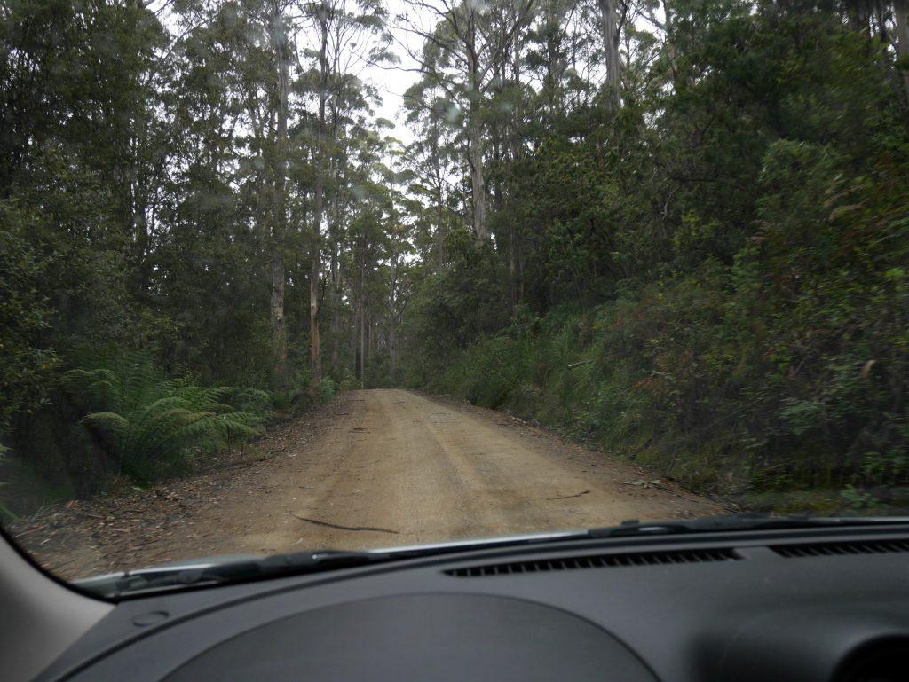 Les routes non goudronnées