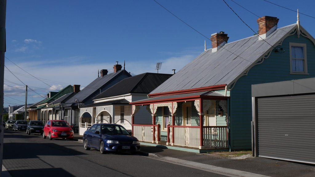 Maisons aux alentours de l'auberge