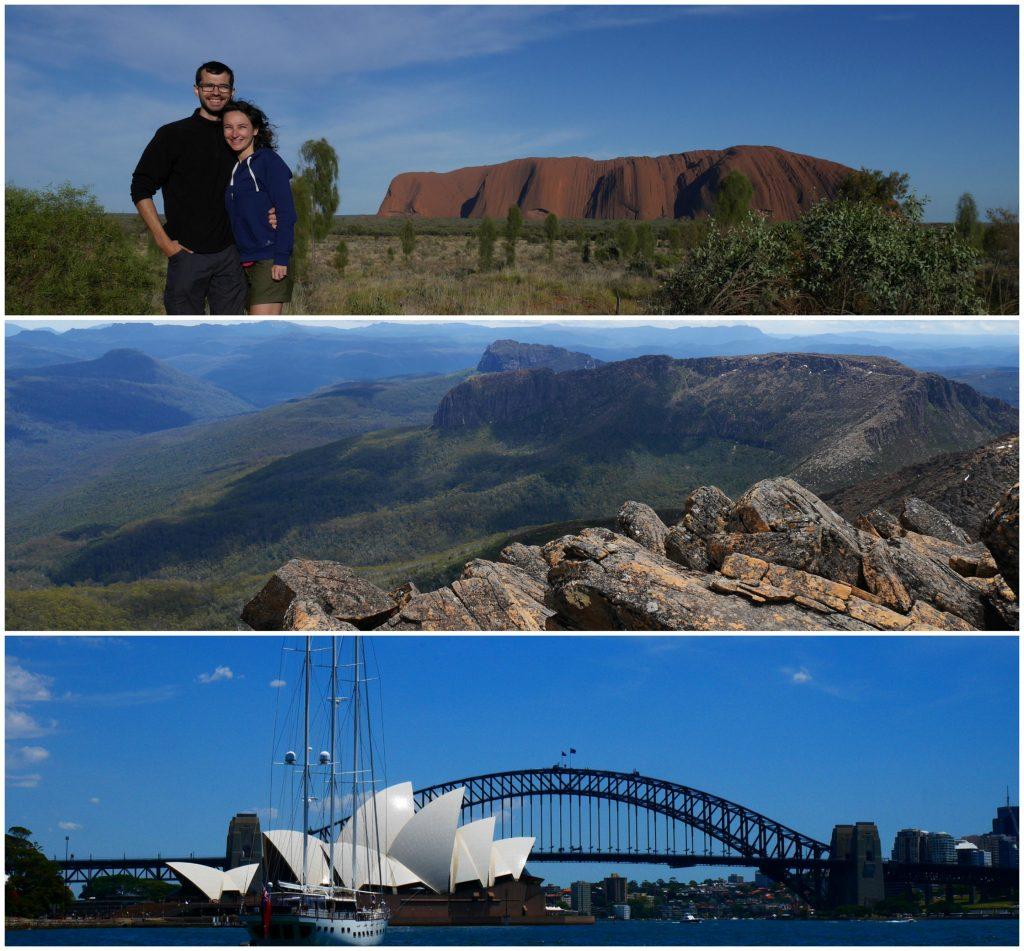 Synthèse de notre séjour australien