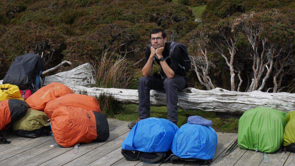 Un dernier regard vers le plus haut sommet de Tasmanie