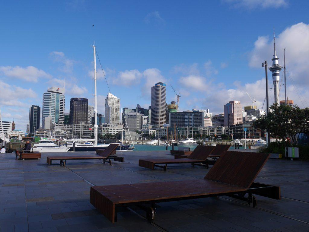 Le port d'Auckland