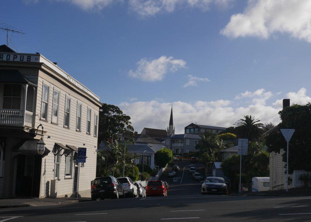 Le quartier de Ponsoby