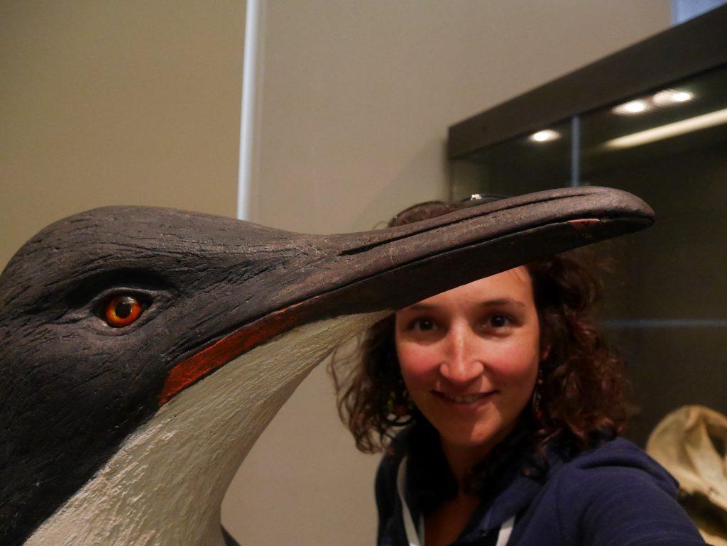 Selfie avec le plus grand des pinguins