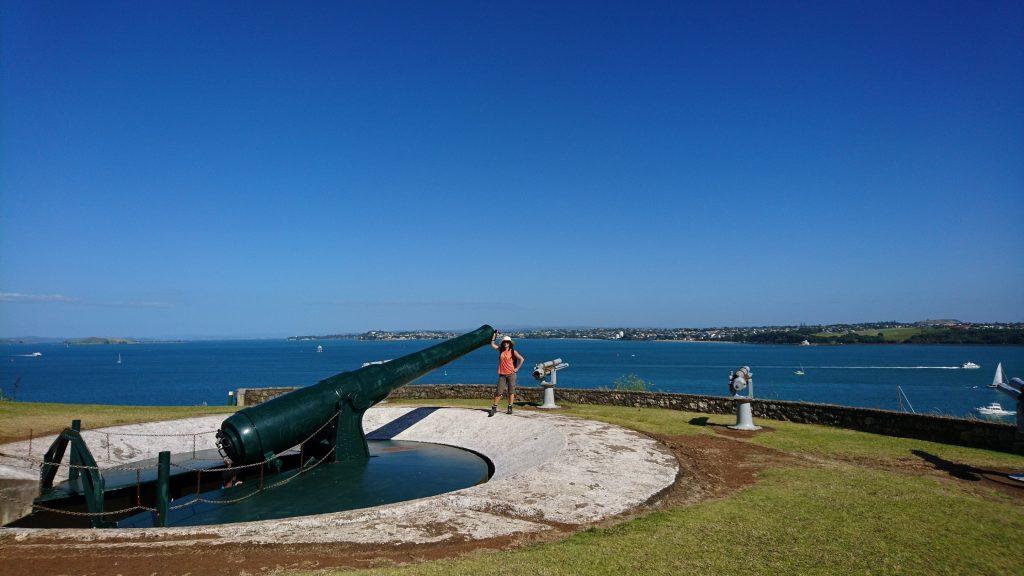 Deux canons sur North head ;-)