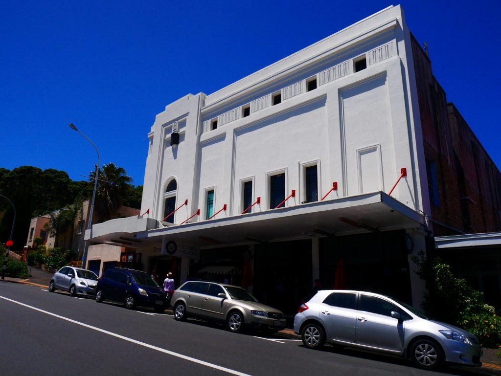 Le Victoria Théâtre, le plus vieux cinéma de l'hémisphère sud