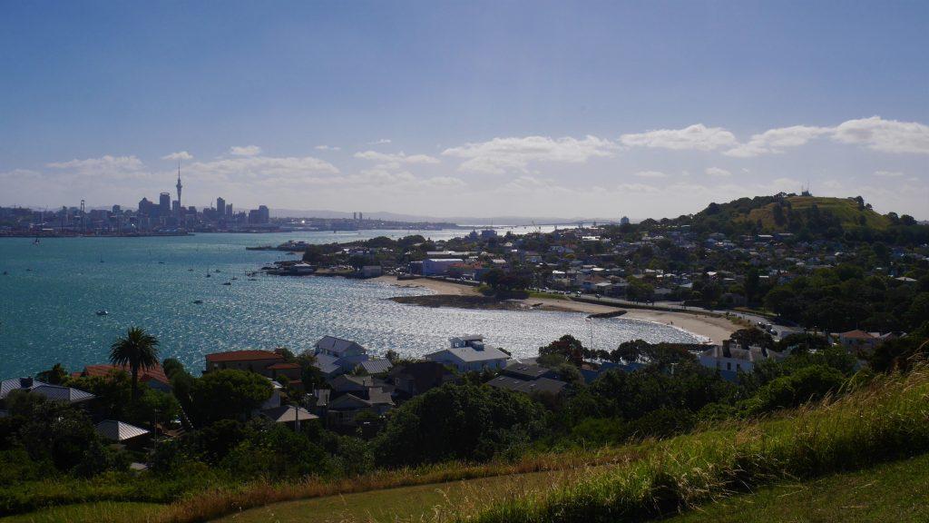 Vue sur Auckland depuis North Head