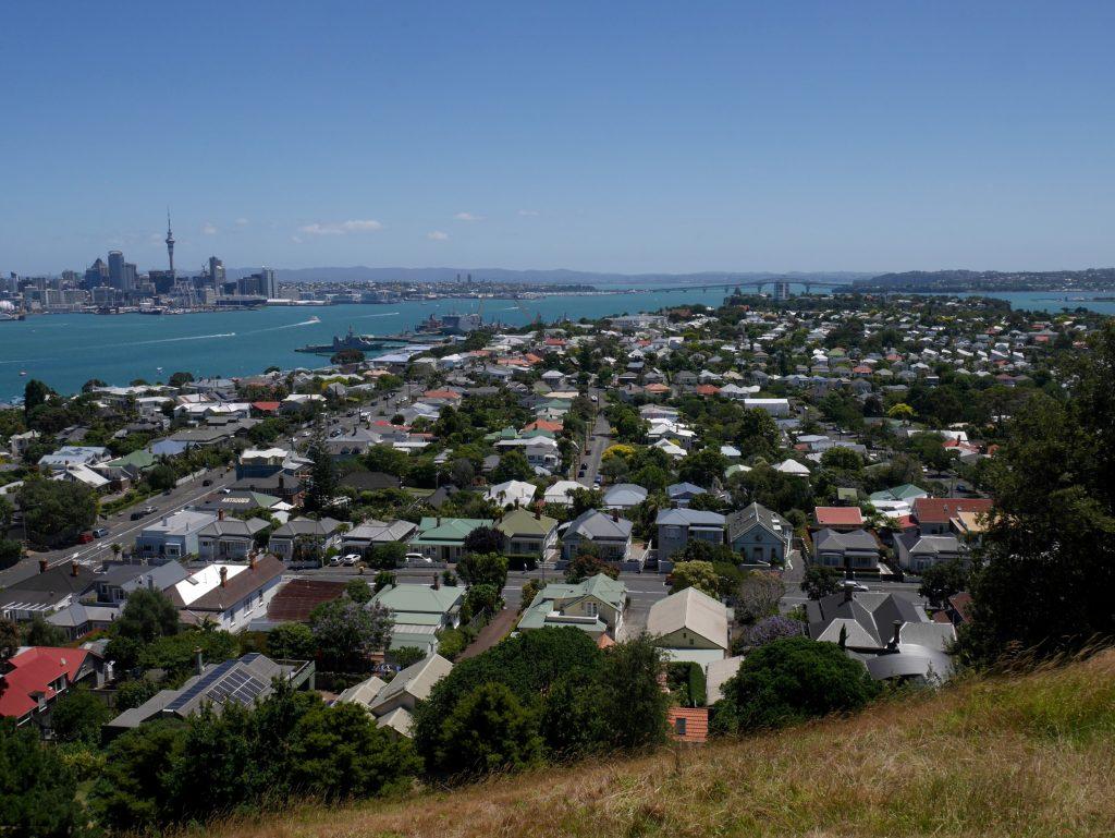 Vue sur Auckland depuis le mont Victoria