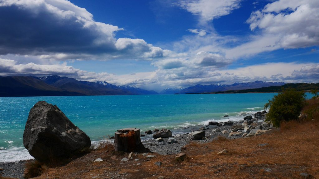 Le lac Pukaki