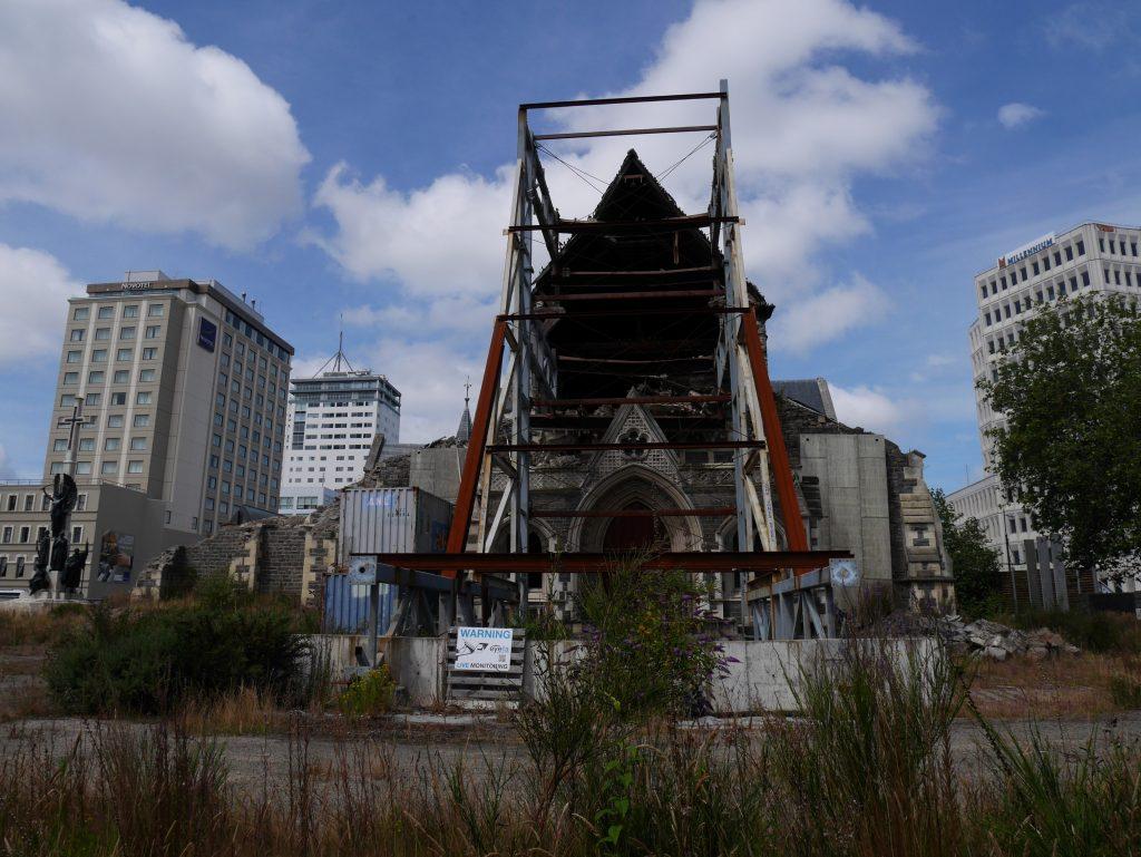 La cathédrale ravagée