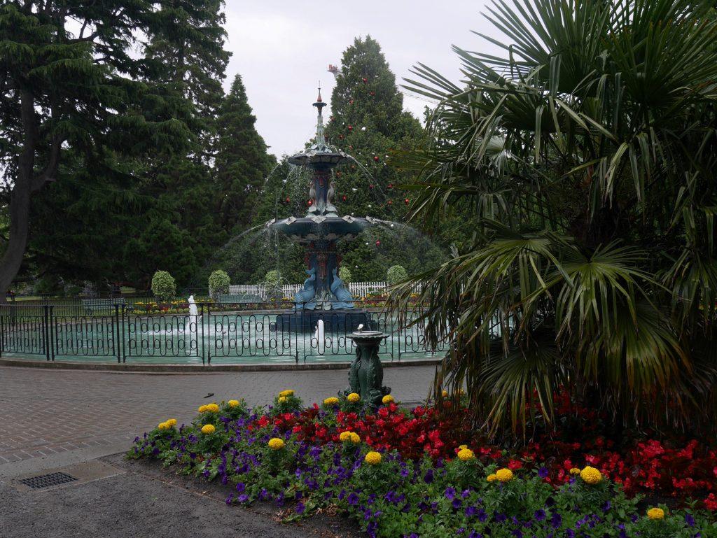 Fontaine du jardin botanique