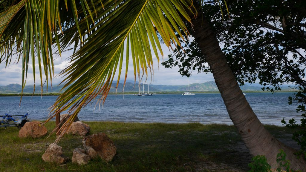 Vue depuis la presqu'île de Ouago
