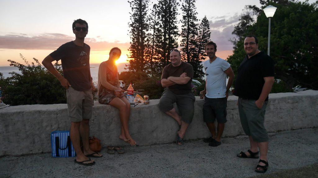 Une dernière bière calédonienne au sommet du Ouen Toro