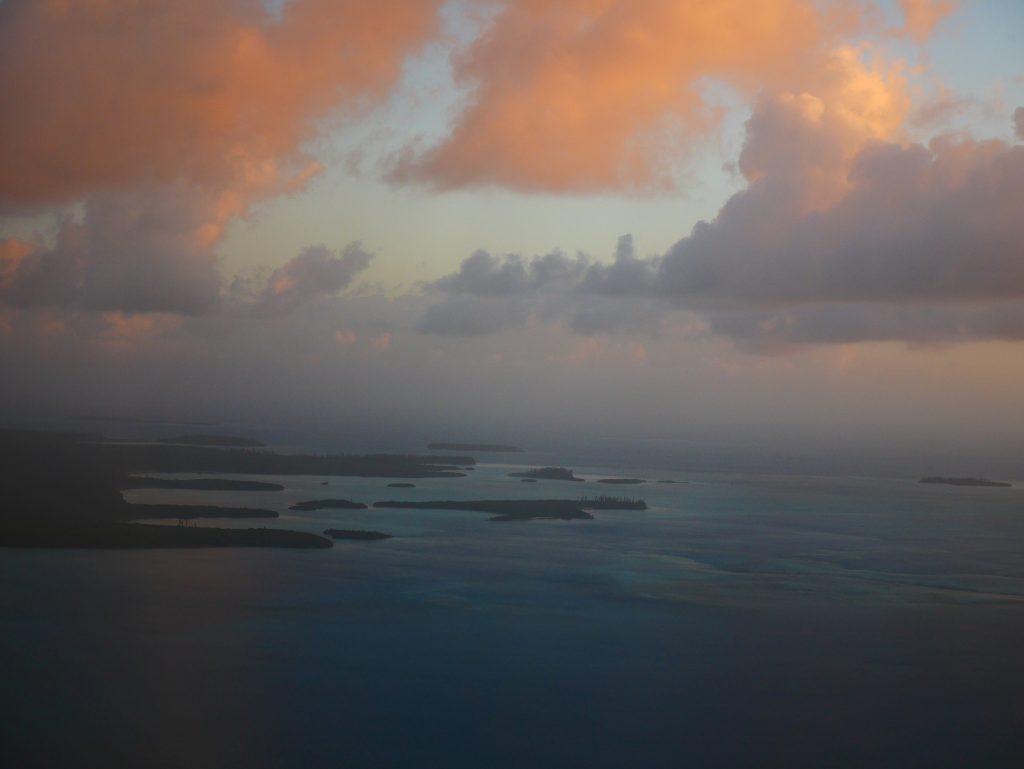 L'île des Pins vue du ciel