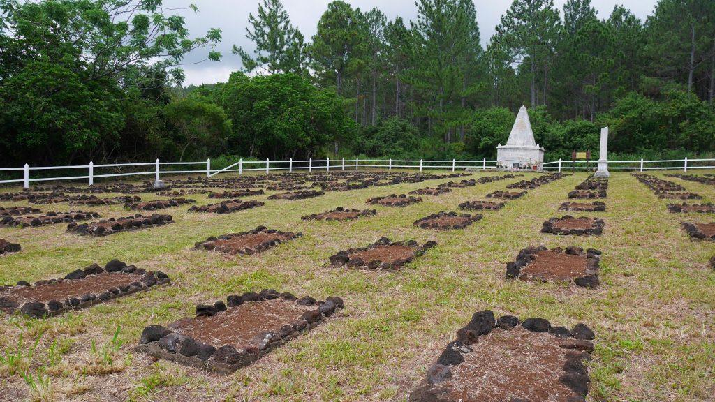 Le cimetière des déportés à l'île des pins