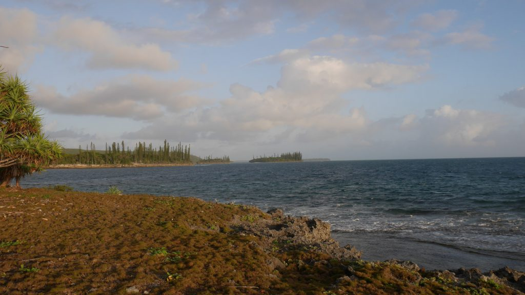 Le sentier côtier de la baie des gendarmes