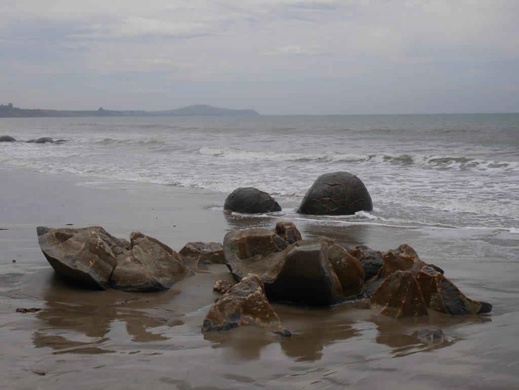 Un boulder éclaté