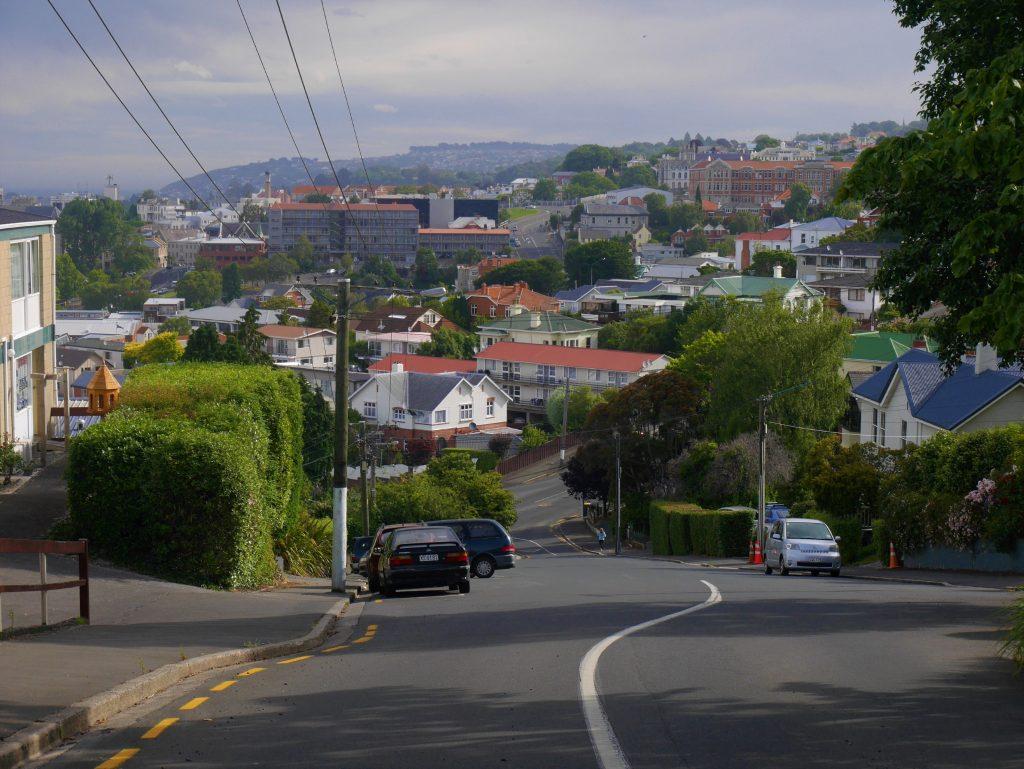 Vue sur Dunedin