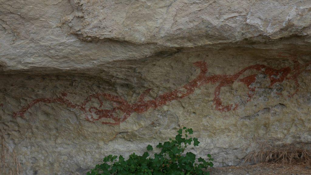 Exemple de fresque maori