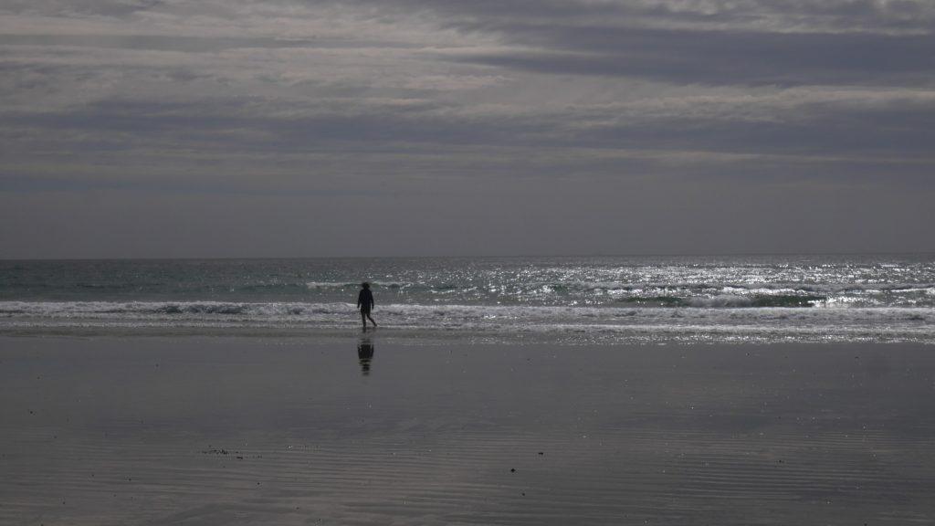 Reveil à la plage