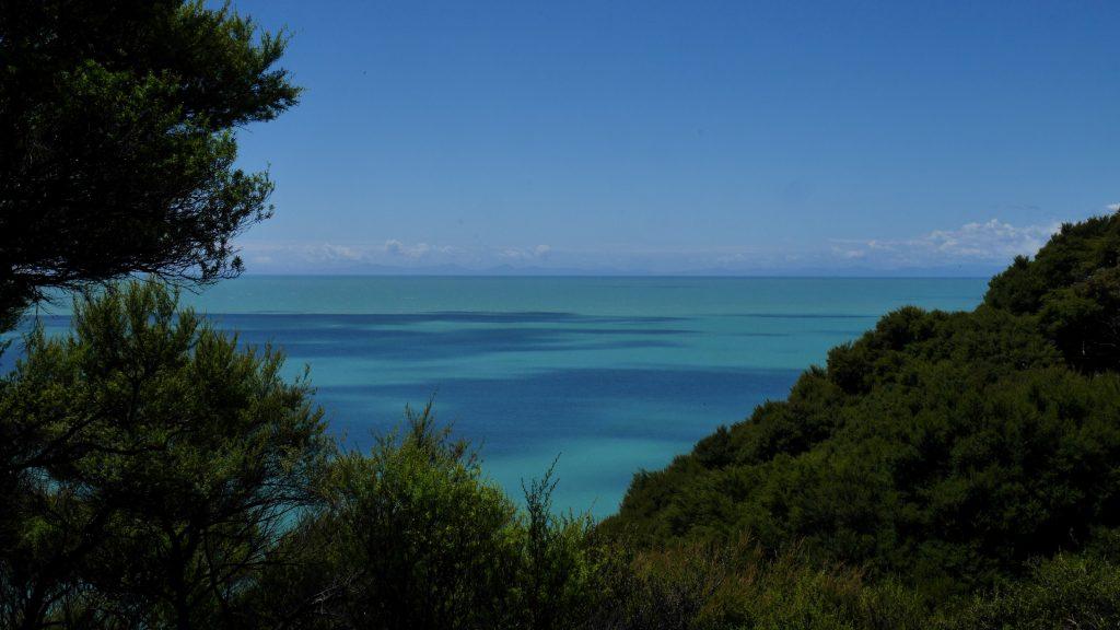 La mer turquoise