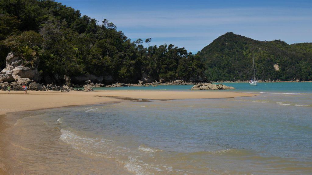 Une halte bien méritée à la plage