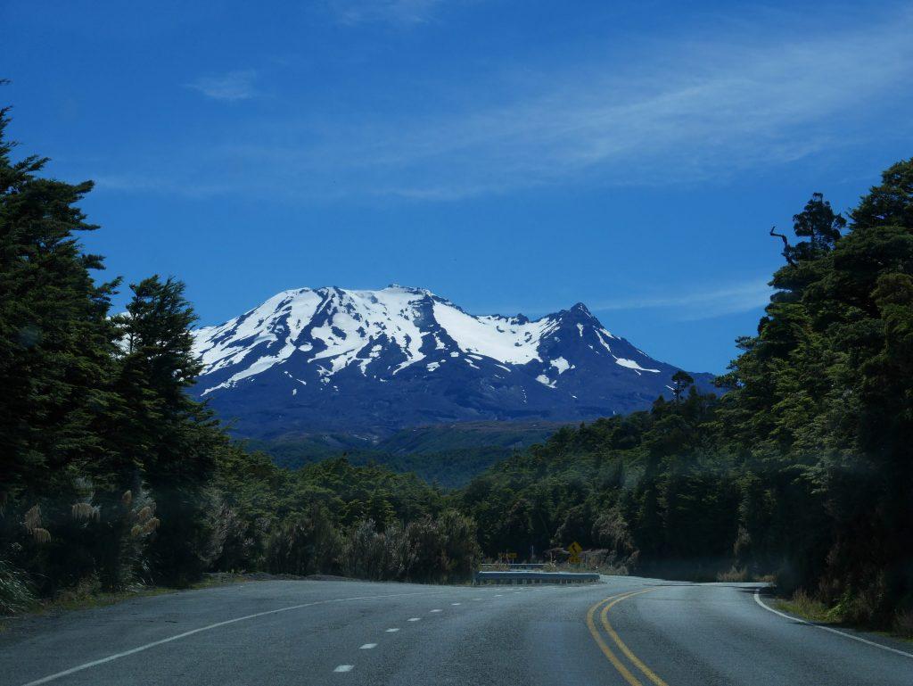 Route vers Ruapehu