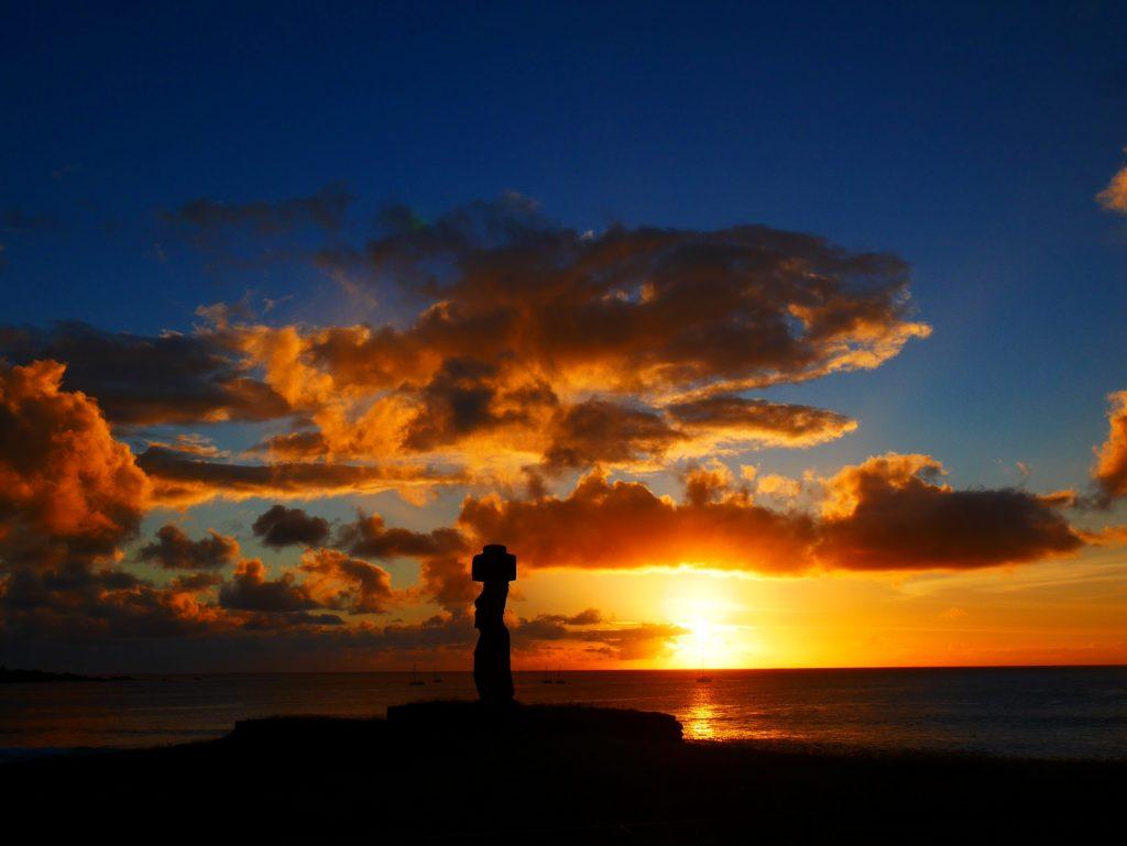 Au soleil couchant, un spectacle sublime