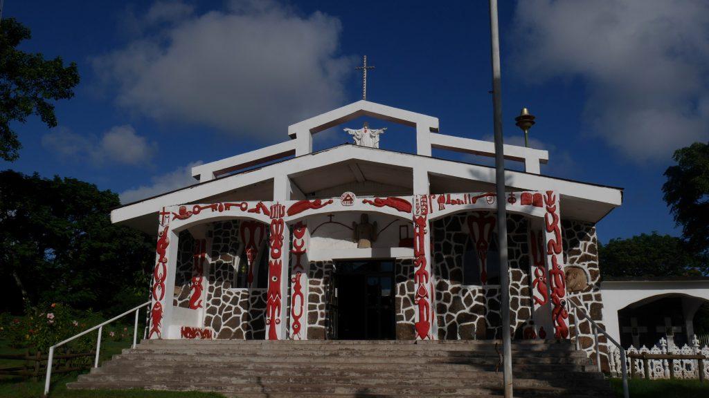 L'église d'Hanga Rua