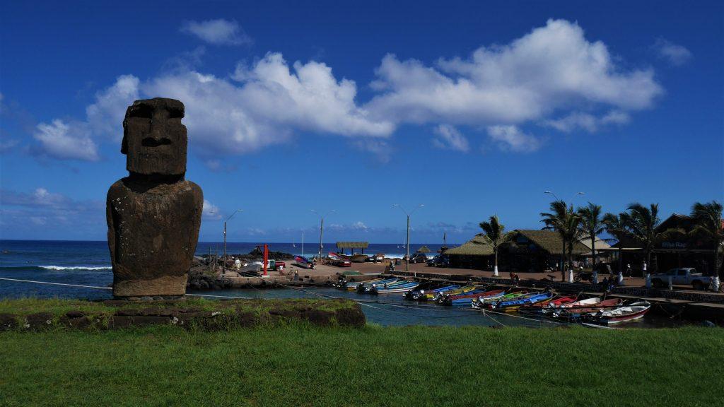 Le port de Hanga Rua