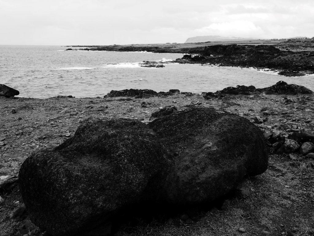 Tête de Moai