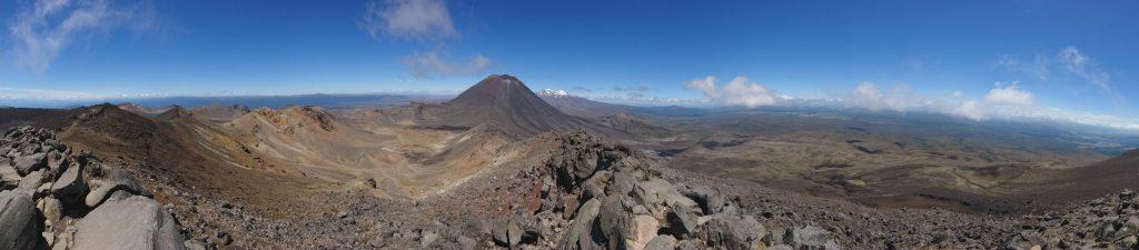 Panorama sur les volcans
