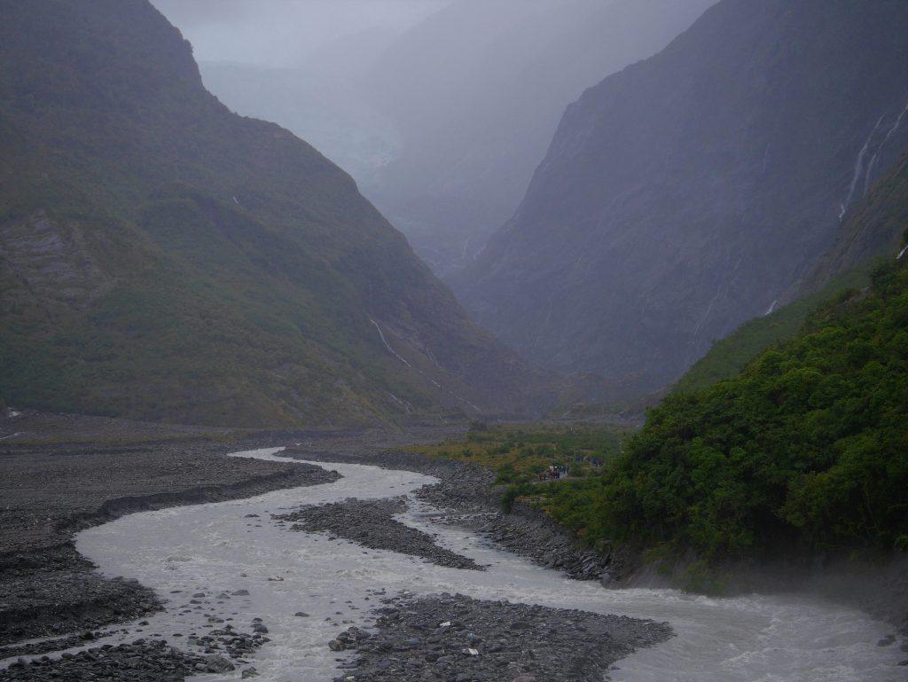 La vallée du glacier Franz Joseph
