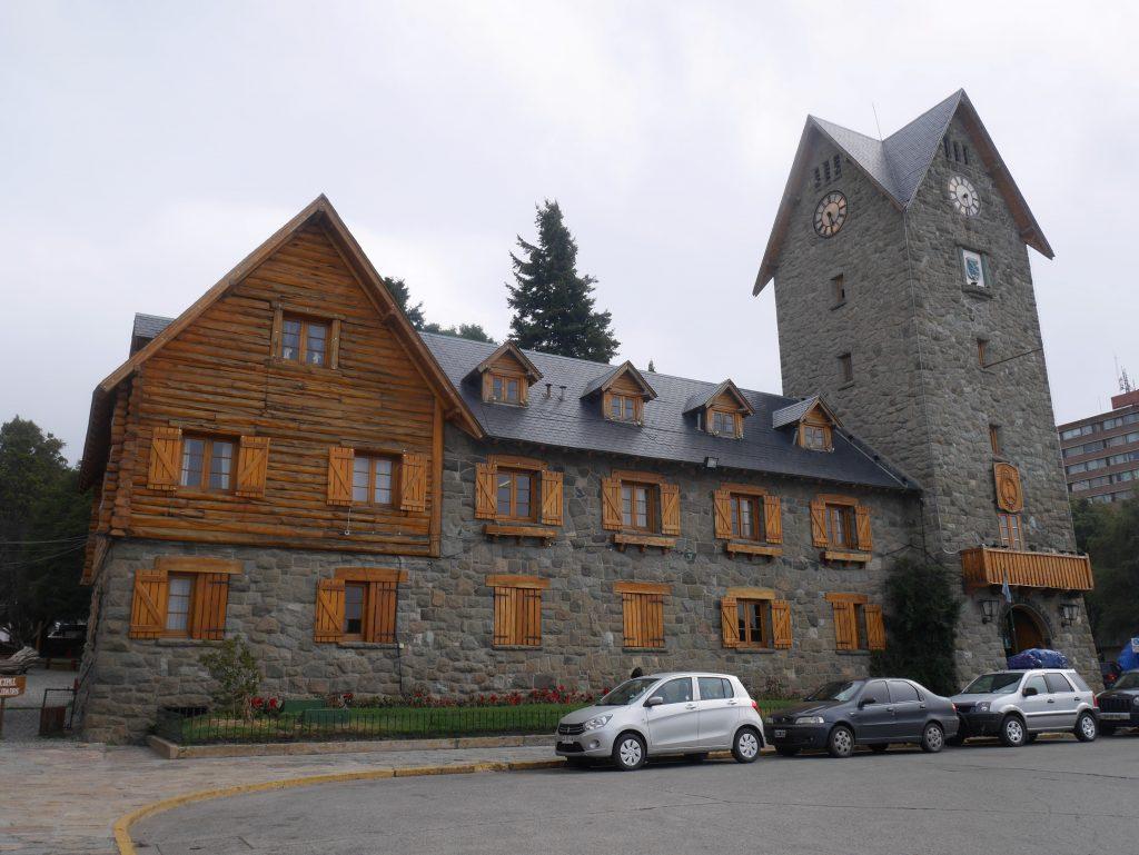 L'hôtel de ville de Bariloche