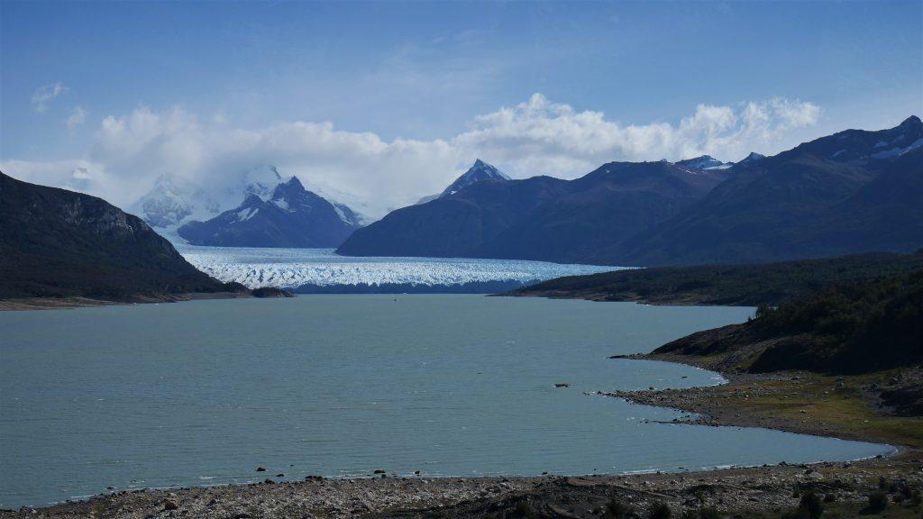 Premier aperçu du Perito Moreno