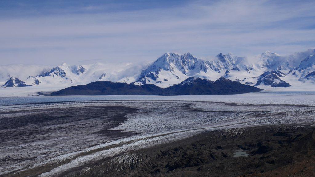 Le champ de glace