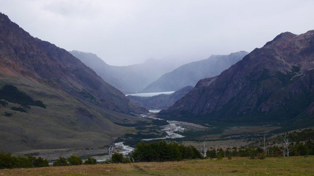 La vallée, enfin dégagée