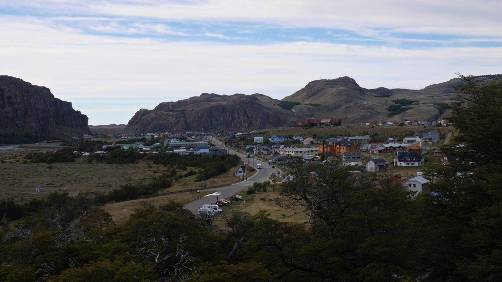 Vue sur El Chalten