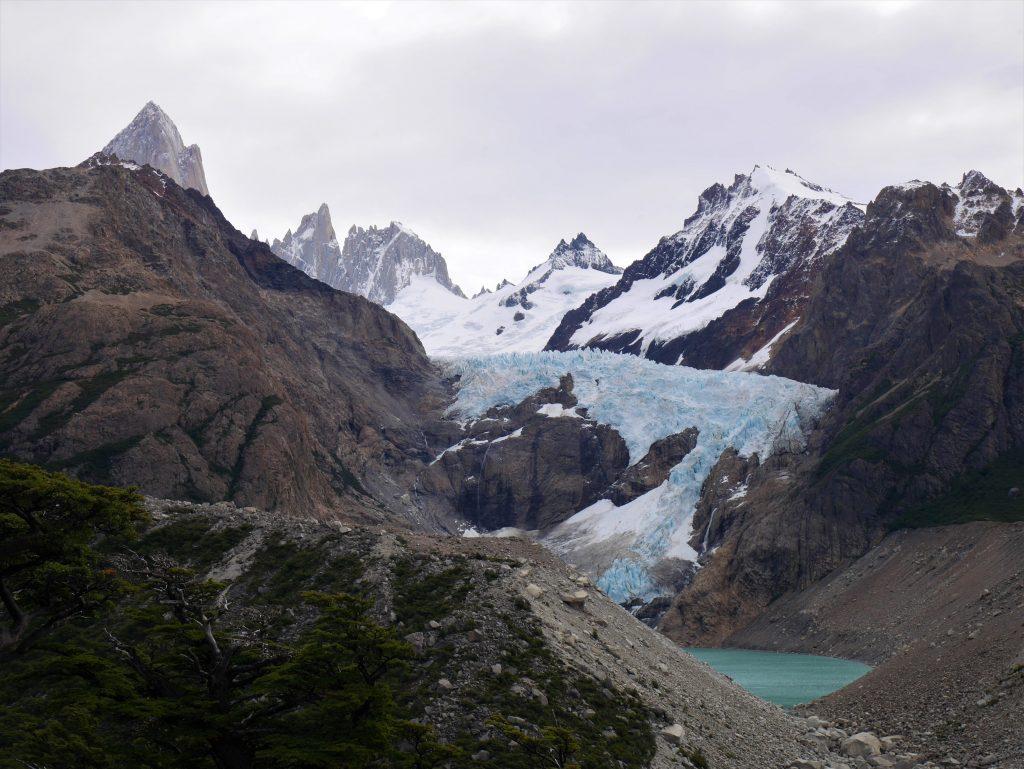 Le glacier Piedras Blancas