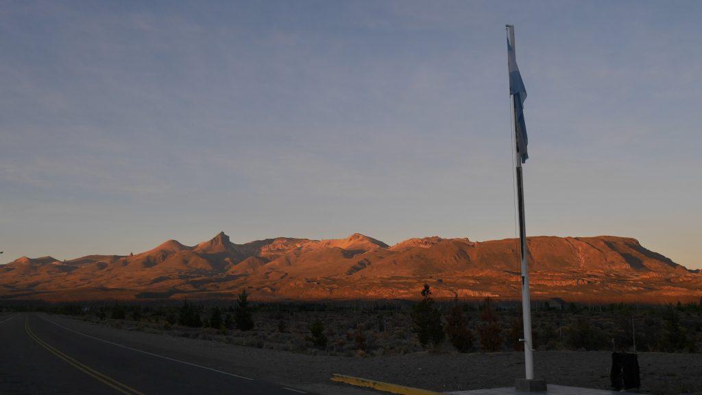 Lever de soleil sur l'Argentine
