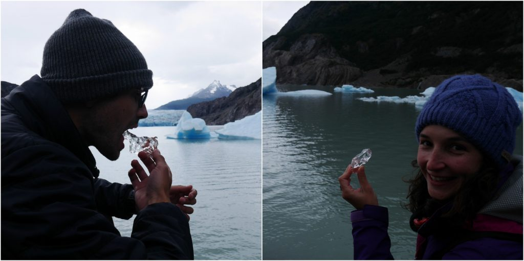 Dégustation d'iceberg