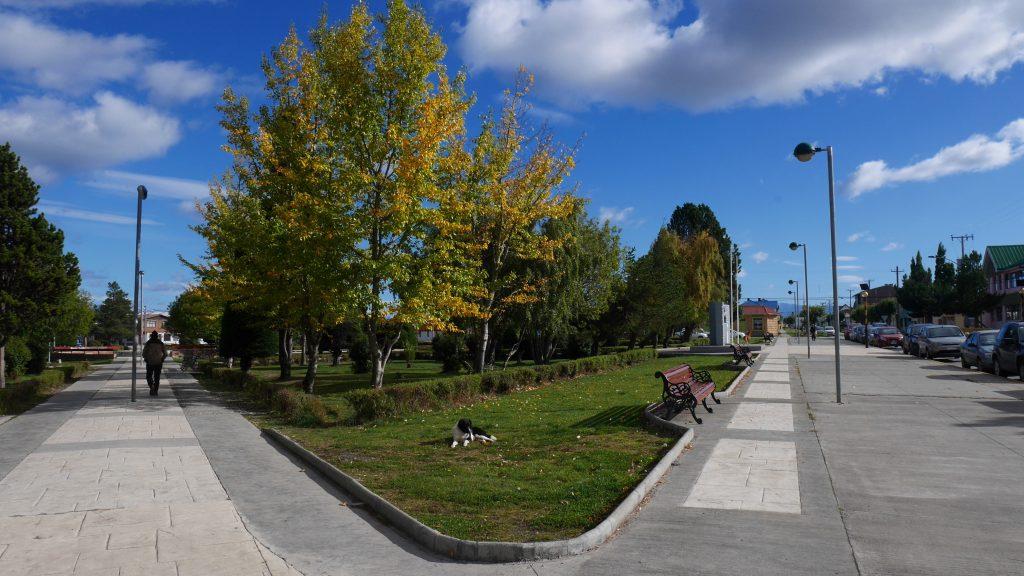 Un des parcs de Puerto Natales